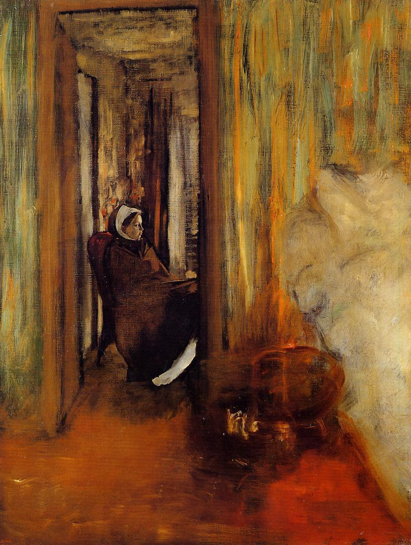 an analysis of detail and composition in avant la course by edgar degas Edgar degas: edgar degas edgar degas, in full hilaire-germain-edgar de gas beyond subject matter and to manipulate the finest nuance of gesture or detail.
